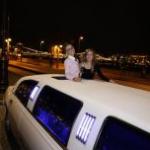 lánybúcsú limuzin